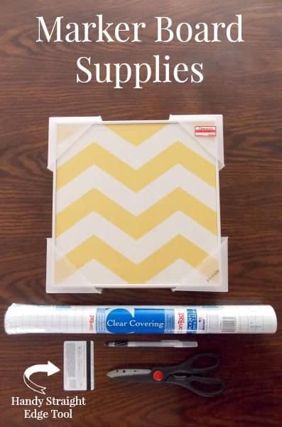 Turn Any Flat Surface into a Dry Erase Board - The Palette Muse