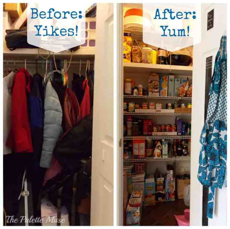 From cluttered closet to organized pantry