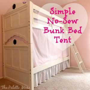The secret to creating a bunk bed tent