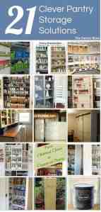 21 Clever Pantry Storage Solutions