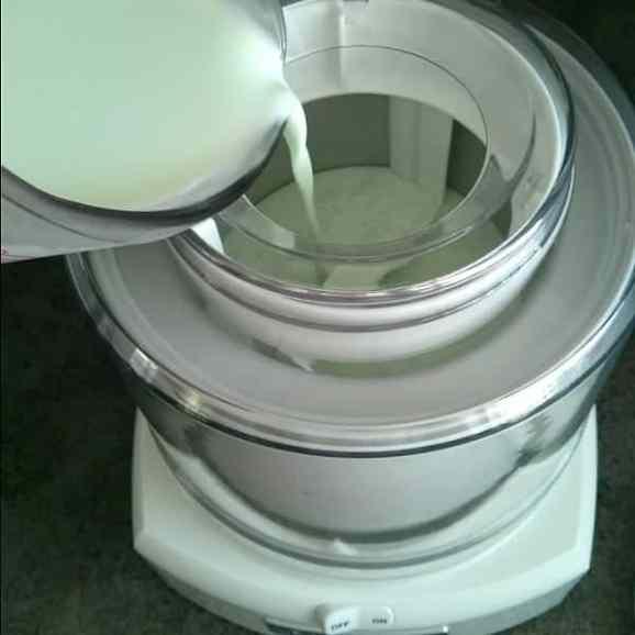 Pouring-into-Ice-Cream-Maker