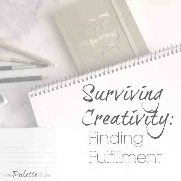 Finding fulfillment can be difficult for Creatives.