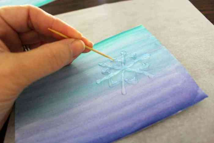 Snowflake-cards-drawing-glue-toothpick