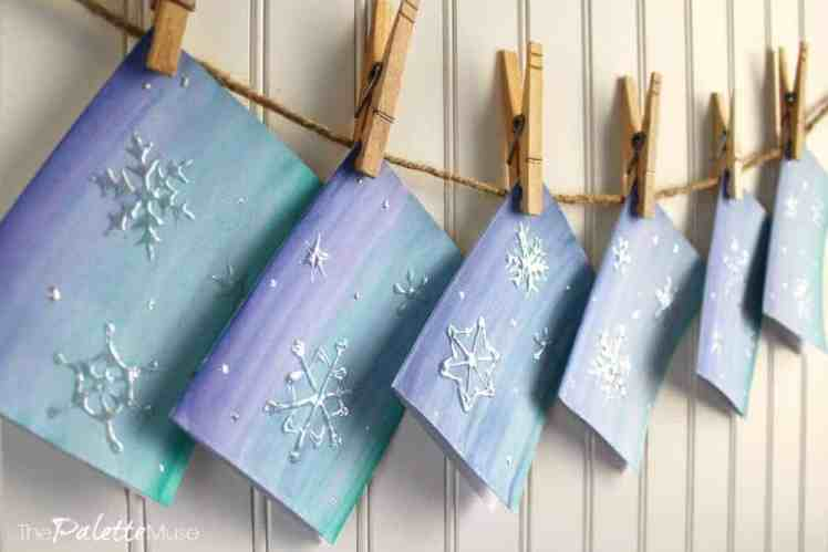 Thermofoil-snowflake-cards-after