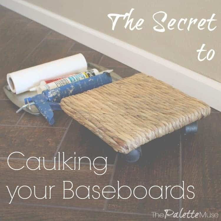 Secret-to-caulking-baseboards