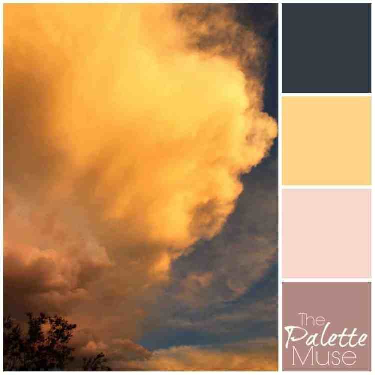 Stormy Sunset Palette