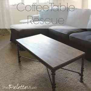 Coffee Table Rescue