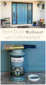 Front Door Makeover with Curb Appeal