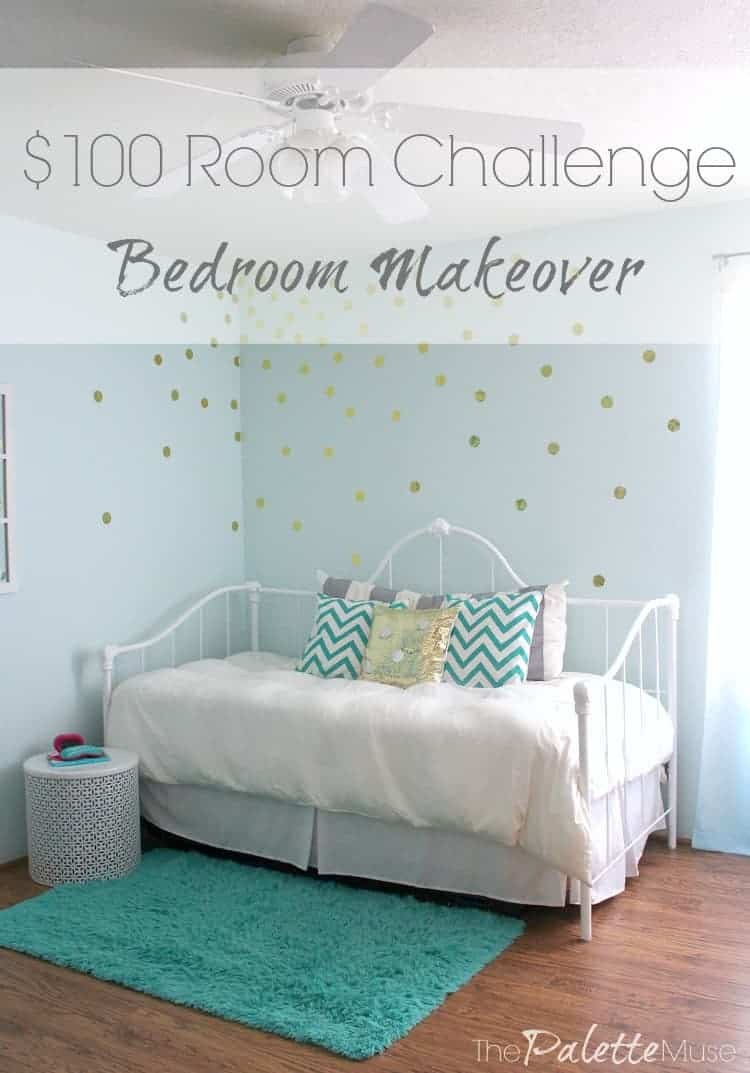 This tween girl's bedroom makeover will have you seeing spots!