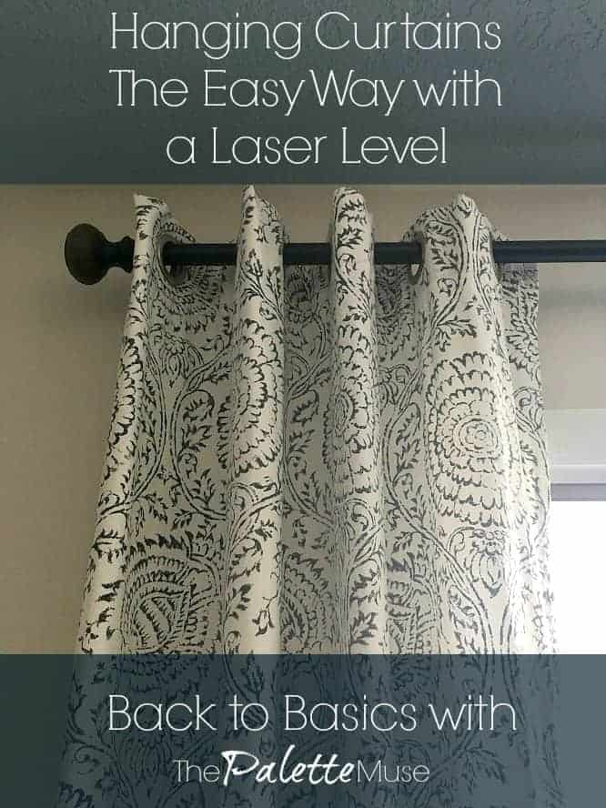 how to hang curtains the easy way with