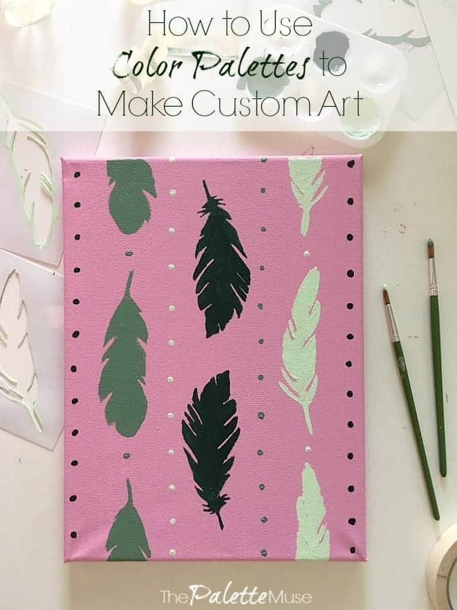 How To Use Color Palettes To Make Custom Art The Palette Muse
