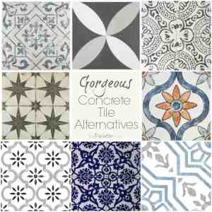 Gorgeous Concrete Tile Alternatives