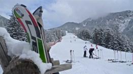 Skiing the Kronplatz near Brunico, Italy   ©Tom Palladio Images