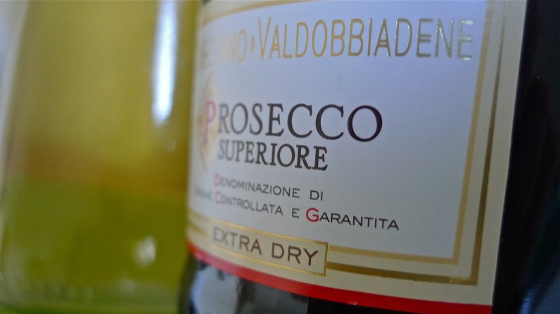 Bottles of Elderflower Syrup and Prosecco | ©Tom Palladio Images