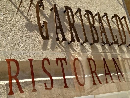 Caffe Ristorante Garibaldi signage - Vicenza, Italy | ©Tom Palladio Images