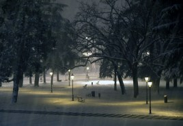 Benches in the Spotlight - Campo Marzo - Vicenza, IT | ©Tom Palladio Images