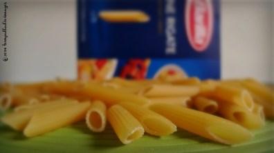 Penne, Pancetta e Pomodorini Pasta | ©Tom Palladio Images
