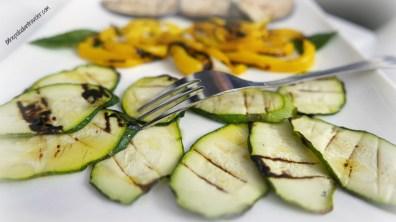 Grilled veggies at Torre Santa Sabina, Puglia, Italy