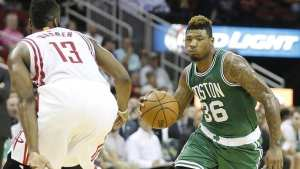 Celtics lose close game to Rockets but find identity