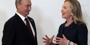 Hillary Clinton has ties to Russia and hers are real