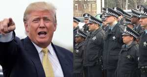 Thank You Trump for standing up for our Police Officers