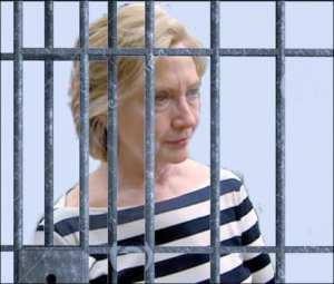 LOCK HER UP: Hillary Clinton is back under investigation