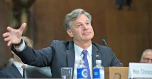 """FBI Director says he hasn't detected a """"whiff of interference"""" from White House on Russia Probe"""