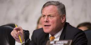 Sen. Burr: Can't confirm that Russia wanted Trump to be elected President