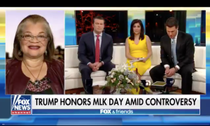 "MLK Niece: ""Donald Trump is not a Racist"",its ""outrageous"" to say that"