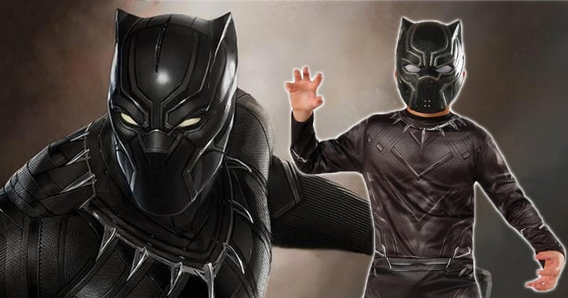 NYT INVESTIGATES IF WHITE CHILDREN CAN WEAR BLACK PANTHER MASK