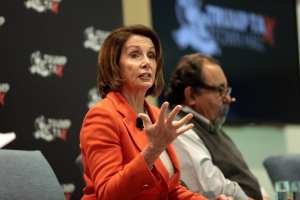 """Pelosi says Medicare for All is """"on the table"""" if Democrats retake House"""