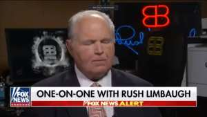 RUSH! 'We are at a tipping point' in America