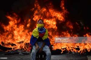 SOCIALISM! Prisoners are being crucified in Venezuala
