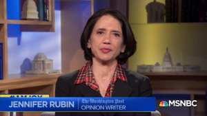 WaPo's Jennifer Rubin just pushed her craziest conspiracy theory yet
