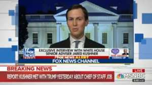Why Jared Kushner would be a disaster as COS