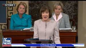 Susan Collins whines over having to actually do her job