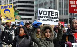 STUDY! Voter ID Laws don't disenfranchise voters