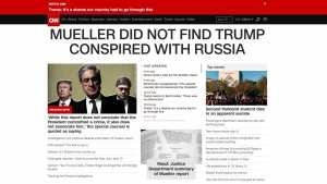 POOR BABIES! MSM forced to admit 'No Collusion', 'Trump Vindicated'