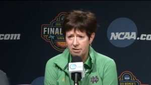 Notre Dame BBALL coach goes on feminist rant after game