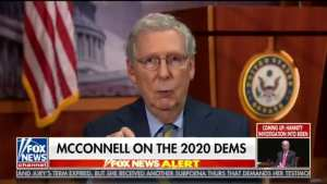 McConnell! We will not let America turn into a socialist country