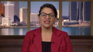 TRUMP! Rep Tlaib 'has tremendous hatred of Israel and the Jewish people', imagine 'if I ever said that'