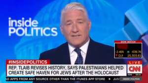 "CNN debunks Tlaib! ""Palestinian leaders at the time sided with Hitler"""