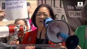 Hirono is scaring middle school girls about Abortion