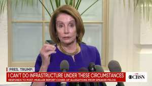 Pelosi tells Dems 'villainous' Trump wants to be impeached