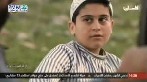 Palestinian Authority TV shows kid learning how to shoot Jews