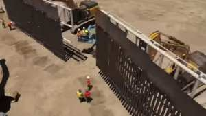 WIRE! Private donors build Border Wall 'faster and cheaper' than Government