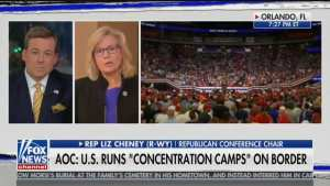 Rep. Liz Cheney  blasts Dem Leadership for not condemning AOC
