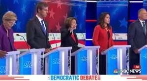 "Trump trolls Dem Debate: ""Boring"""