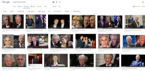 Google search for Epstein and Bill Clinton brought up pics of Trump
