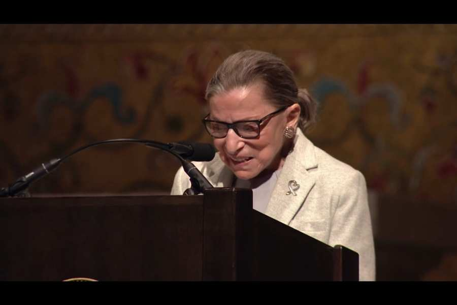 Ginsburg seen leaving NYC hospital